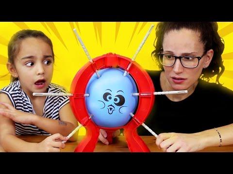 Boom Boom Ballon! Juego de mesa con globo. SUPERDivertilandia!