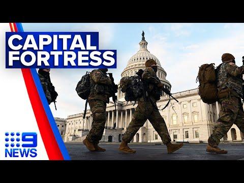 Washington DC a fort ahead of Presidential transition | 9 News Australia thumbnail