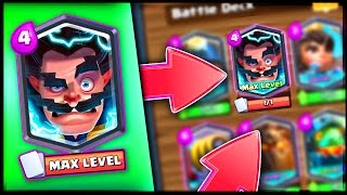 ELECTRO WIZARD CARD in Clash Royale • Welcome to the Wizard Family