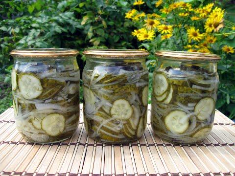 рецепт салата из огурцов с луком на зиму пошагово