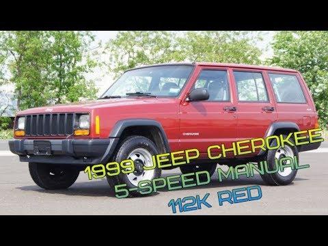 1999 jeep cherokee xj 4 0l 4x4 5 speed manual suv 112k red youtube rh youtube com 1999 Jeep Cherokee Sport 4x4 1999 Jeep Cherokee Sport Lifted