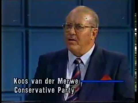 Dr. Andries Treurnicht oor die KP en Apartheid (Maart 1992)