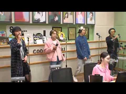 170816 WINNER - REALLY REALLY live at KBS Volume Up Radio