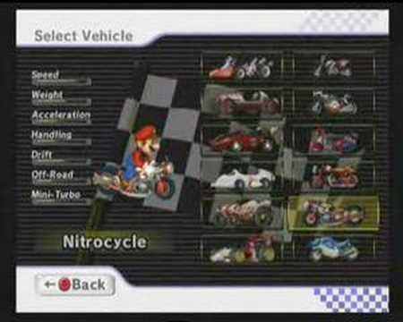 Mario Kart Wii All Karts And Bikes Unlocked Eu Version Youtube