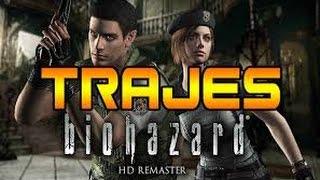 Resident Evil HD Remaster - Todos los trajes alternativos
