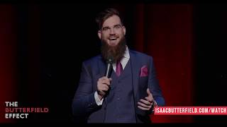 Isaac Butterfield On Religion - The Butterfield Effect - Comedy Special