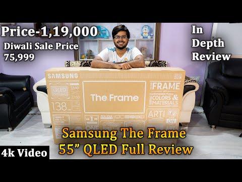 Samsung The Frame 55 Inch Qled 4K Tv In-Depth-Review | Oneplus Tv V/s Samsung The Frame |