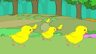 Cock-A-Doodle-Doo - English Nursery Rhymes - Cartoon/Animated Rhymes For Kids