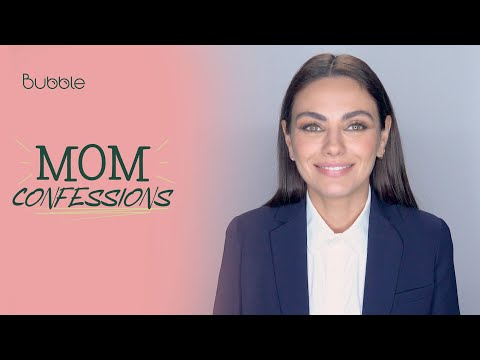 Mila Kunis Teaches Her Kids to Stand Up For Themselves   MOM CONFESSIONS