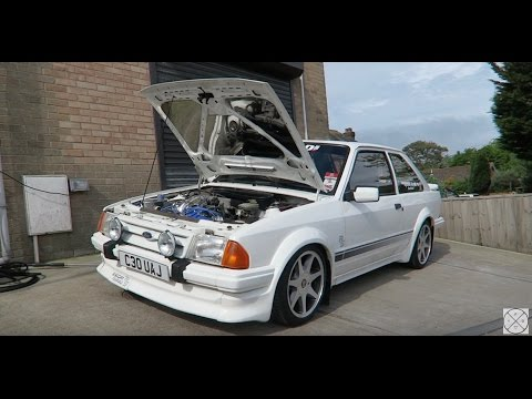 Detailing A Ford Escort Series 1 RS Turbo