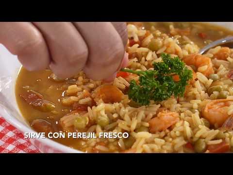Cocina Bravo: Arroz Caldoso con Camarones