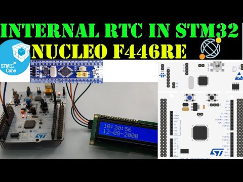 RTC in STM32 || LCD 16x2 || HAL || CubeMx - YouTube