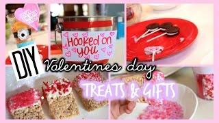 Diy Valentine's Day Treats +gift Ideas!