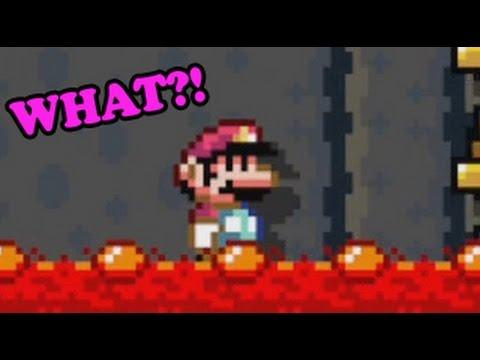 Super Mario Maker - Insane Glitch Levels by roi Mathis
