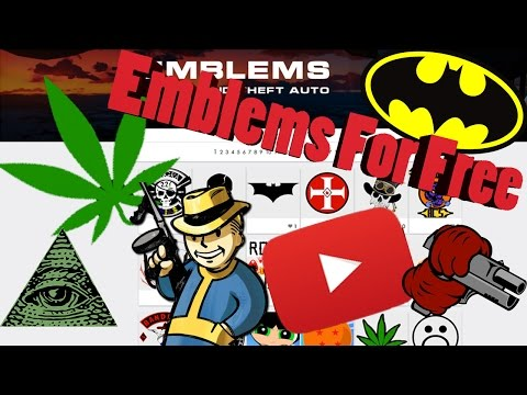 How To Download GTA 5 Amazing Crew Emblems! (Tutorial)
