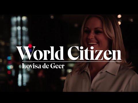 Lovisa de Geer frågar kändisar om deras resvanor | World Citizen