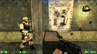 Counter-Strike: Condition Zero Deleted Scenes - Walkthrough Mission 1 - Recoil