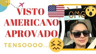 Baixar Visto Americano Aprovado | Saiba Todos os Passos Aqui | Por Lorena Evelyn