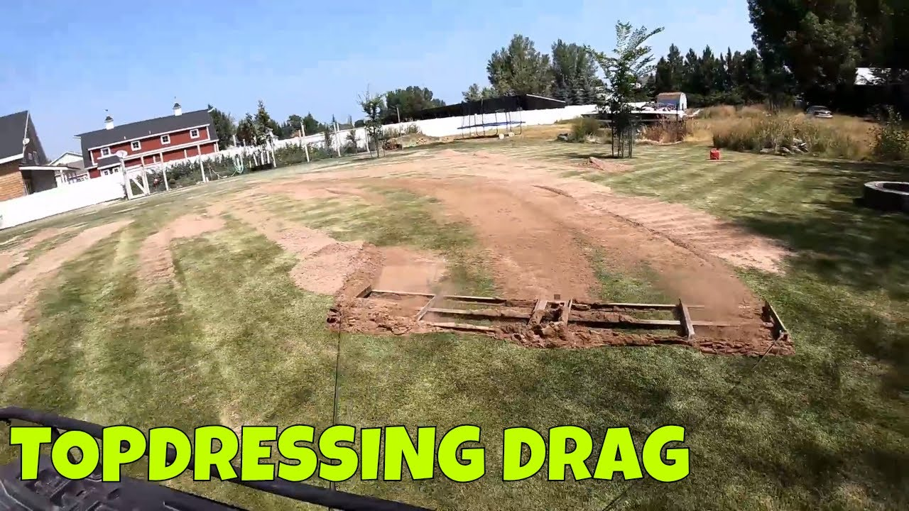 Top Dressing Drag Mat Lawn Leveling