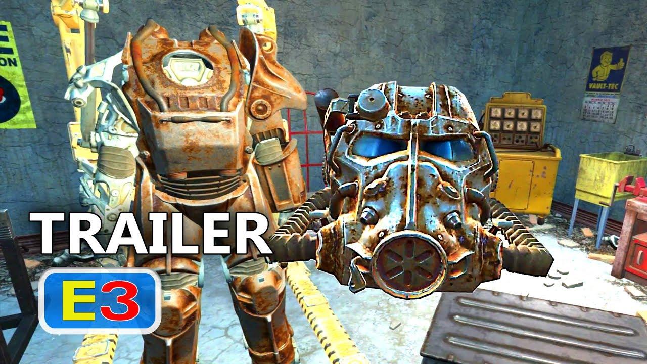 ps4 fallout 4 vr trailer e3 2017 youtube. Black Bedroom Furniture Sets. Home Design Ideas