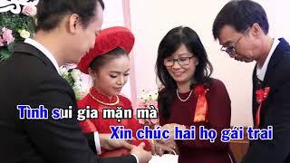 LÒI CHÚC HẠNH PHÚC ( Nguyễn Duy Khoái ) KARAOKE