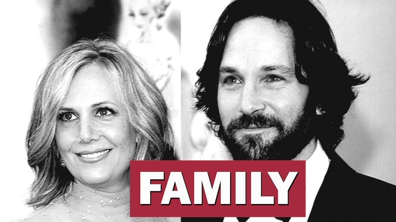 Paul Rudd And Wife And Kids