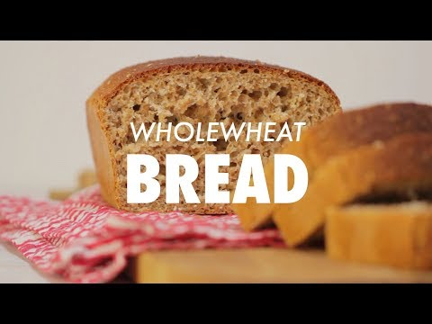 Easy No-Fail Wholewheat Bread - Loving It Vegan