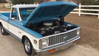 1972 Chevy C10 Cheyenne Super 402