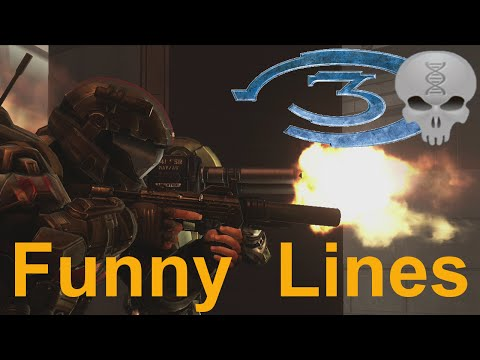 Lines of Halo - Halo 3 Marines/ODST + Extras (funny dialogue)