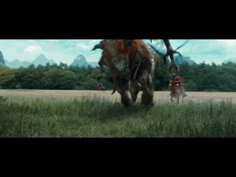 "47 Ronin - Filmklipp ""Kai Attacks The Beast Of Ago"""