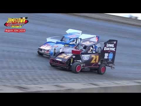 Jamestown Speedway Slingshot Races (8/17/19)