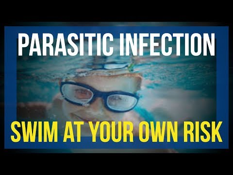 Parasitic infection of skin by swimming | Cryptosporidium | Danger in Swimming |