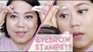 Eyebrow Stamps? What???
