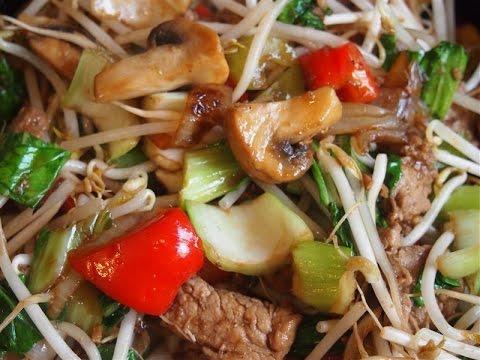 Chop choy recept chop suey tjap tjoy chinees eten chinese recepten youtube - Snack eten ...