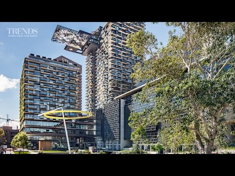 Award-winning Sydney mixed-use development with vertical gardens