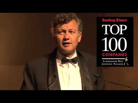 Sunday Times Top 100 Companies Awards 2013