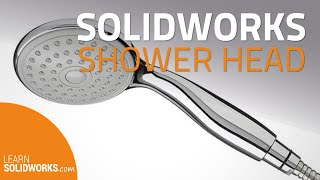 How to model a Showerhead in SolidWorks?