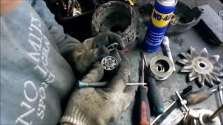 Ремонт генератора погрузчика
