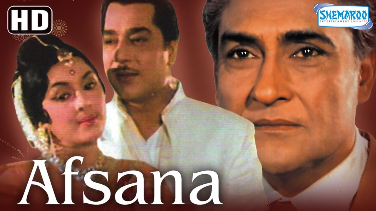 Download Afsana {HD} - Ashok Kumar - Veena - Jeevan - Pran - Old Hindi Movies - (With Eng Subtitles)