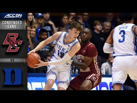 Boston College vs. DukeCondensed Game | 2019-20 ACC Men's Basketball