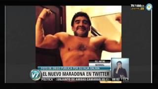 Visión 7: El nuevo Maradona en Twitter