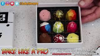 CXBO Chocolates Unboxing   Brandon Olsen Chocolatier