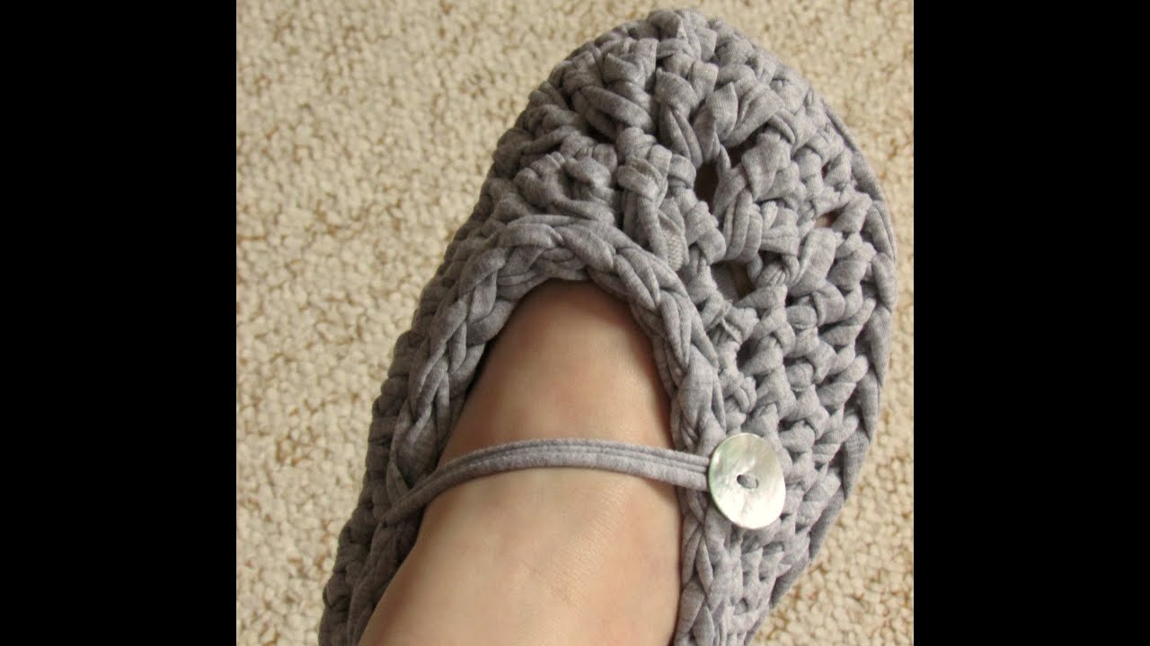 Very Easy Chunky Crochet Slippers Tutorial  For Beginners  All Adult  Sizes  Youtube