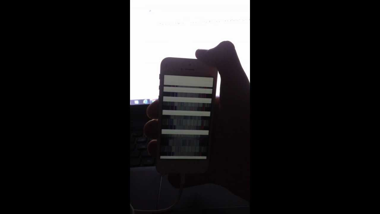 why does my iphone screen flicker iphone 5 screen problems display flickering lines 19647