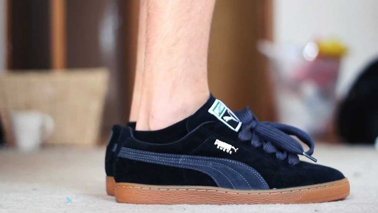 Puma Suede On Foot