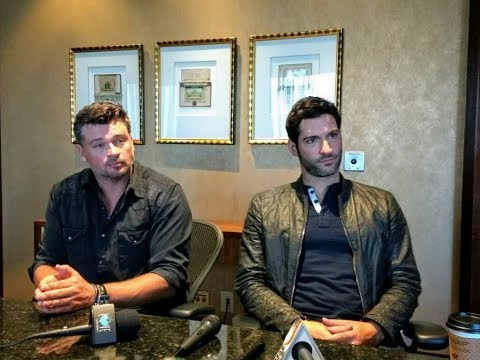 Lucifer Interview with Tom Ellis and Tom Welling: The Tale of Two Toms Season 3