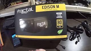 видео Блоки питания Fractal Design Edison M