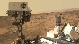 Proof that Mars  had a dense atmosphere - NASA Curiosity Rover