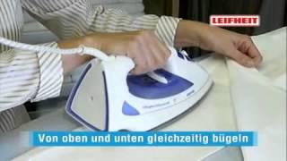 Доска гладильная  Airboard из листового моноблока с отверстиями Leifheit Германия_ТД МАРКИК(, 2014-04-14T19:16:28.000Z)