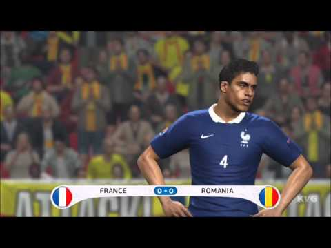 PES 2016 – UEFA Euro 2016 – France vs Romania | Gameplay (HD) [1080p60FPS]